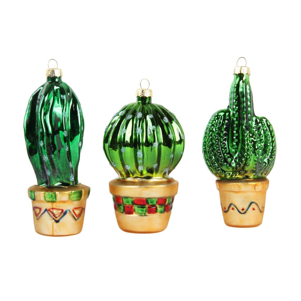 cactus kerstbal &klevering