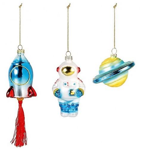 ruimtevaart kerstballen