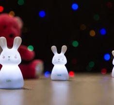 Een lichtpad van konijntjes!