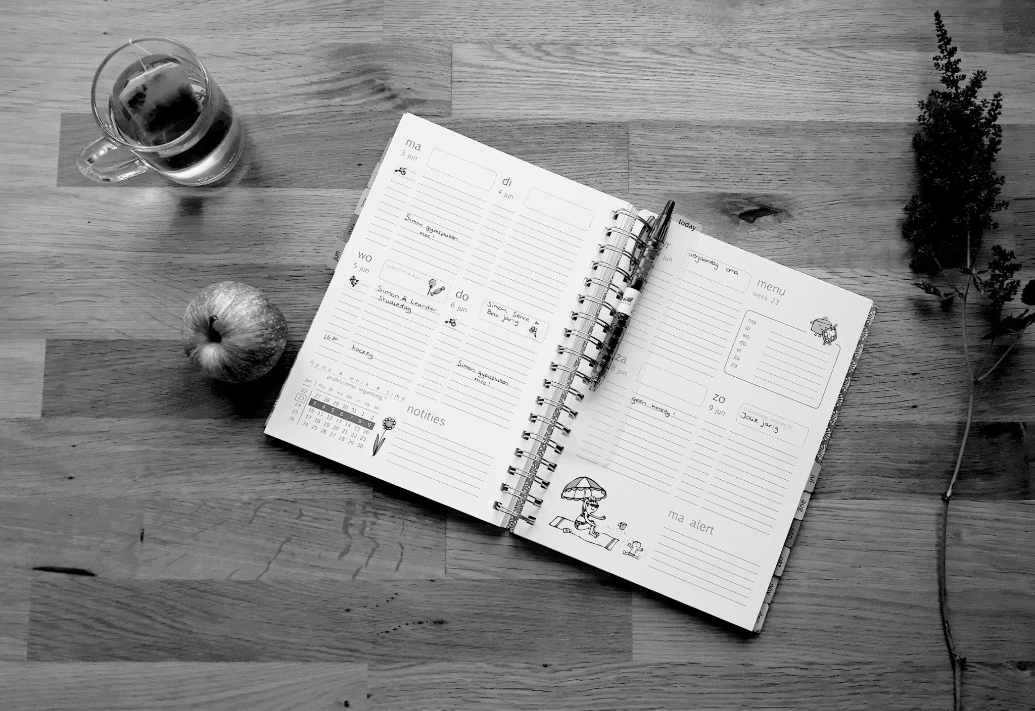 agenda homework